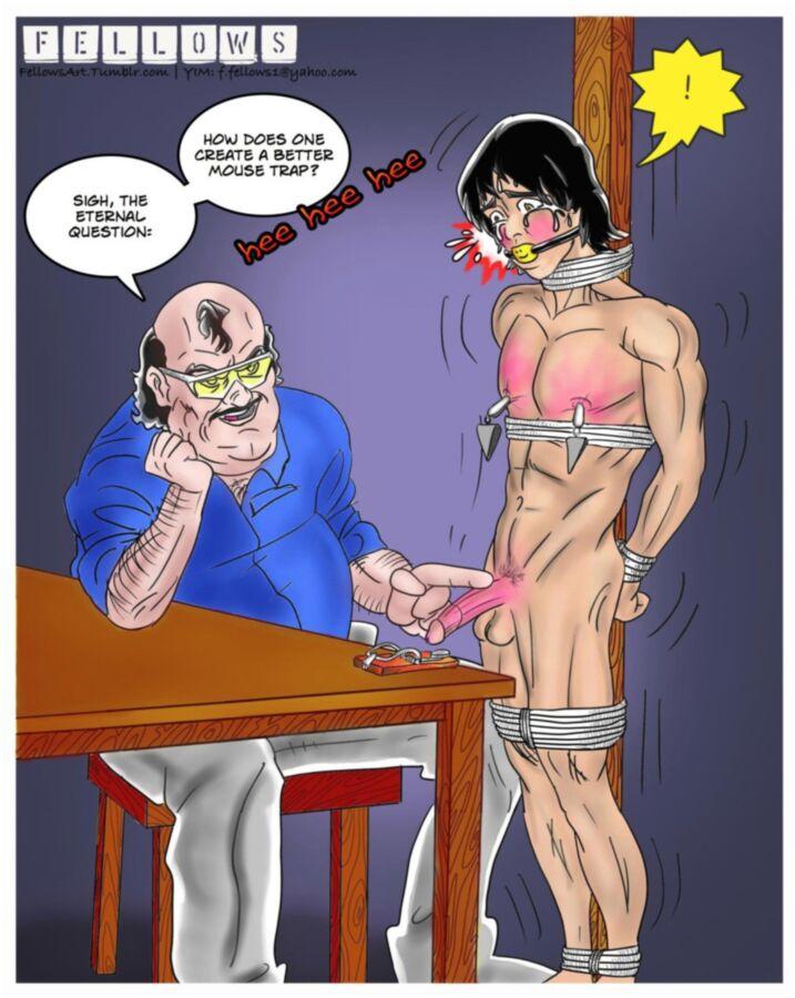 Комиксы яой бдсм