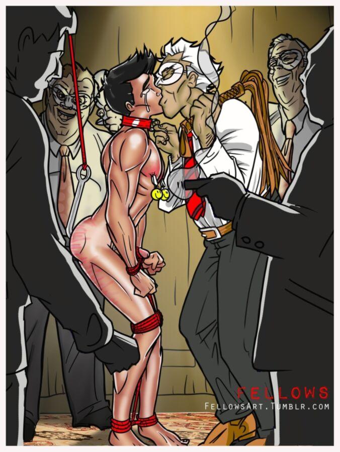 Male Bondage Art 80